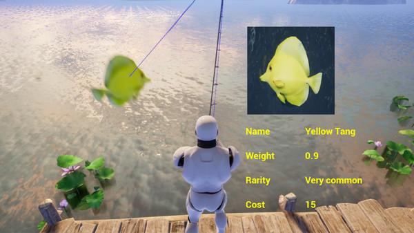 大明湖畔荷花钓鱼