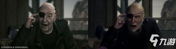 《心灵杀手:复刻版》独眼老哥彻底换头 对比原版截图